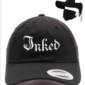 Inked Brand Hat+Mask is removable 2 switch masks!